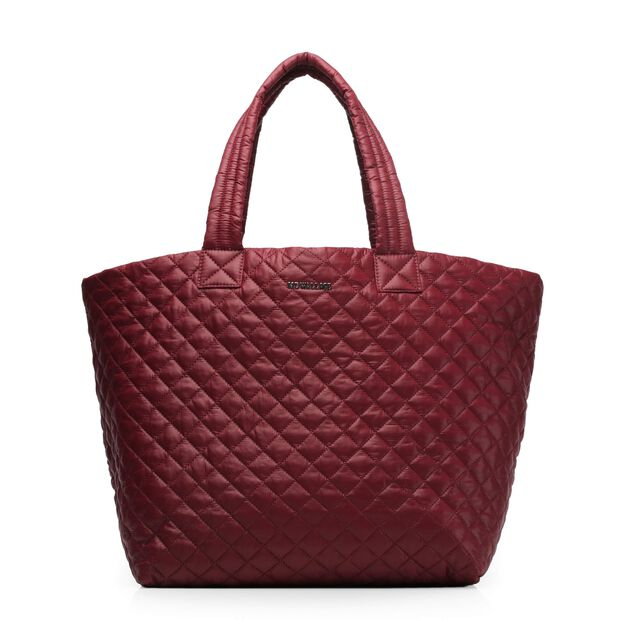 Large Metro Tote in color Maroon