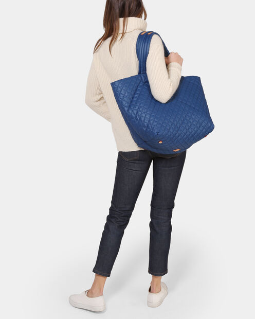 Estate Blue Oxford Large Metro Tote (3711371) in color Estate Blue