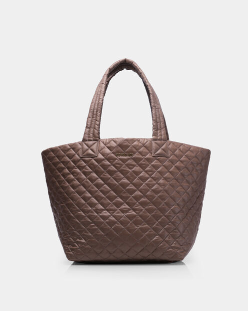 Medium Metro Tote in color Fawn