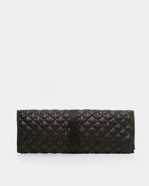 Black Oxford Quilted Pad (10360108) in color