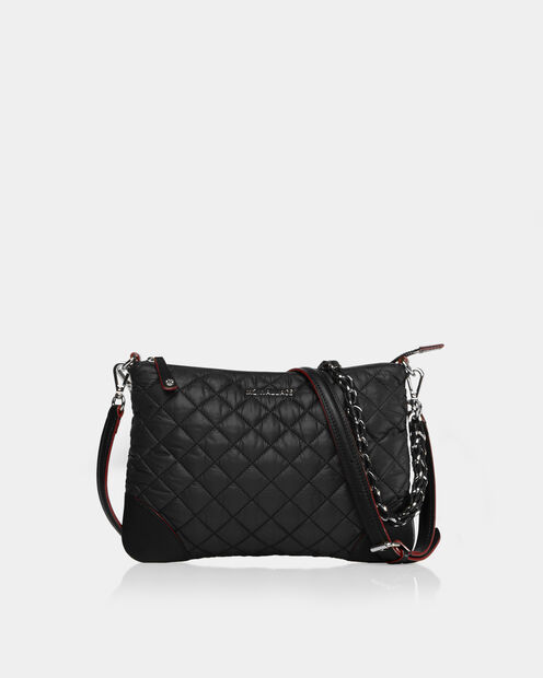 Small Crosby Crossbody in color Black