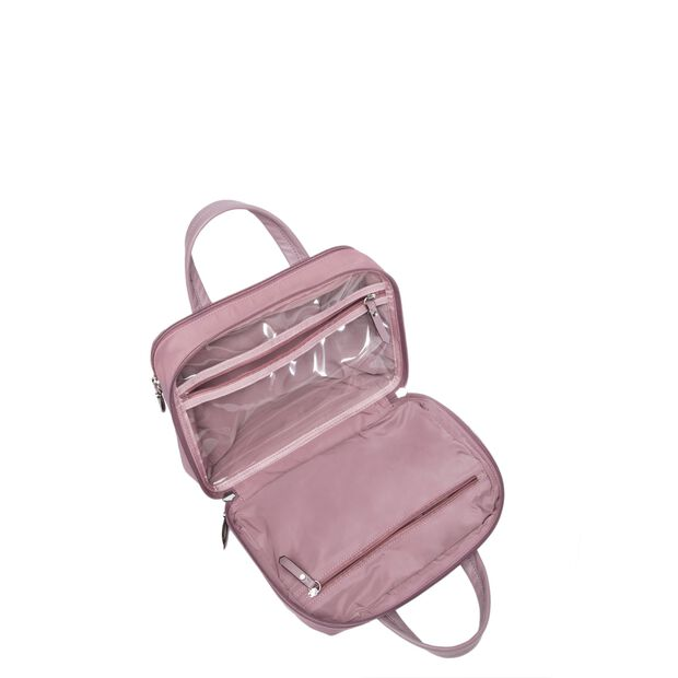 Dusty Rose Bedford Nikki Travel Cosmetic (10321393) in color Dusty Rose