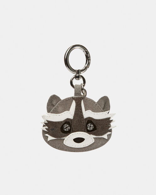Magnet Suede Raccoon Charm (10410404) in color