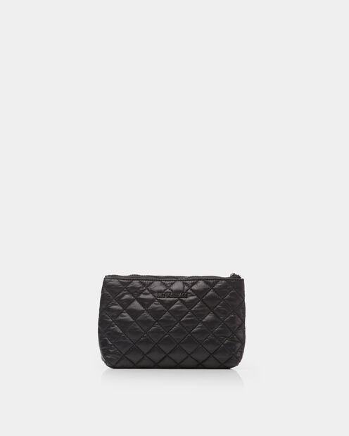 Savoy Flat Pouch in color Black