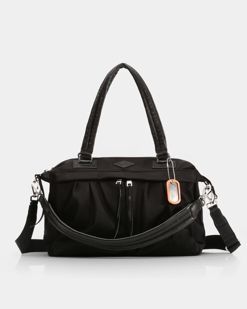 Jordan Satchel in color Black