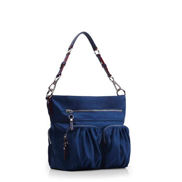 Estate Blue Bedford Belle Hobo (10101371) in color Estate Blue