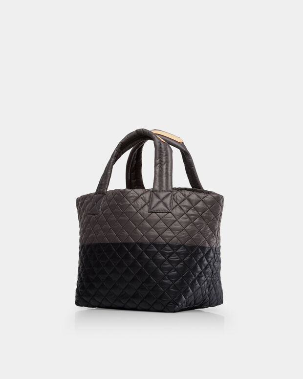 Black/Magnet Oxford Small Metro Tote (3701329)