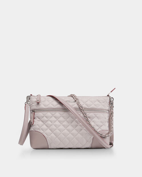 Crosby Crossbody in color Gull Grey