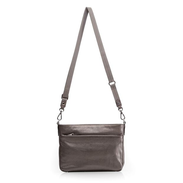 Abbey Crossbody - Platinum Luster Leather (6031335) in color Platinum Luster