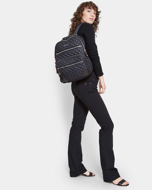 Black Oxford Crosby Backpack (10430108) in color Black