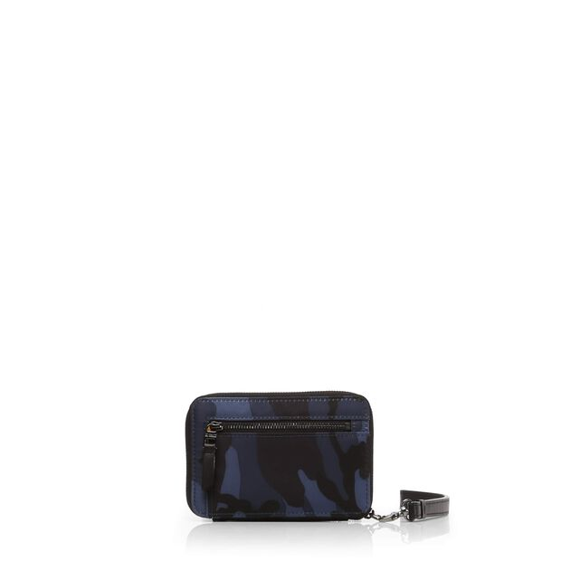 Dark Blue Camo Bedford Sporty Wallet (2671311) in color Dark Blue Camo