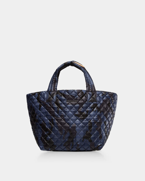 Small Metro Tote in color Dark Blue Camo