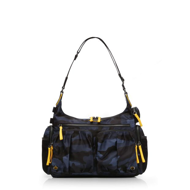 Dark Blue Camo Bedford Sporty Hobo (2461311) in color Dark Blue Camo