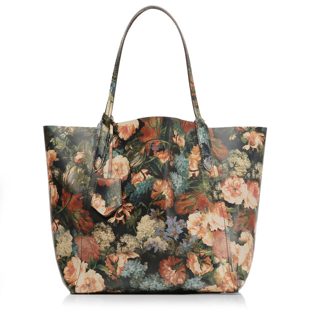 Night Garden Leather Venice Tote (10481409) in color
