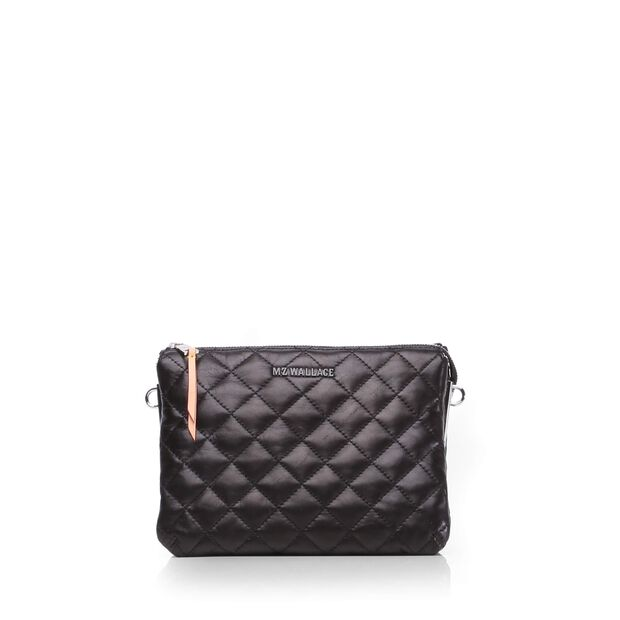 Pippa - Black Quilted Leather (8001153)