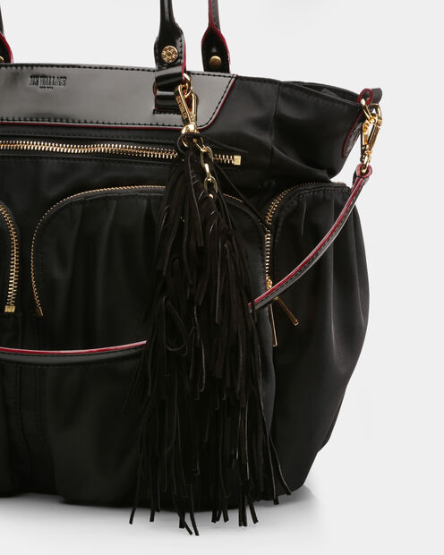 Black Suede  Jerry Tassel (7430089) in color Black