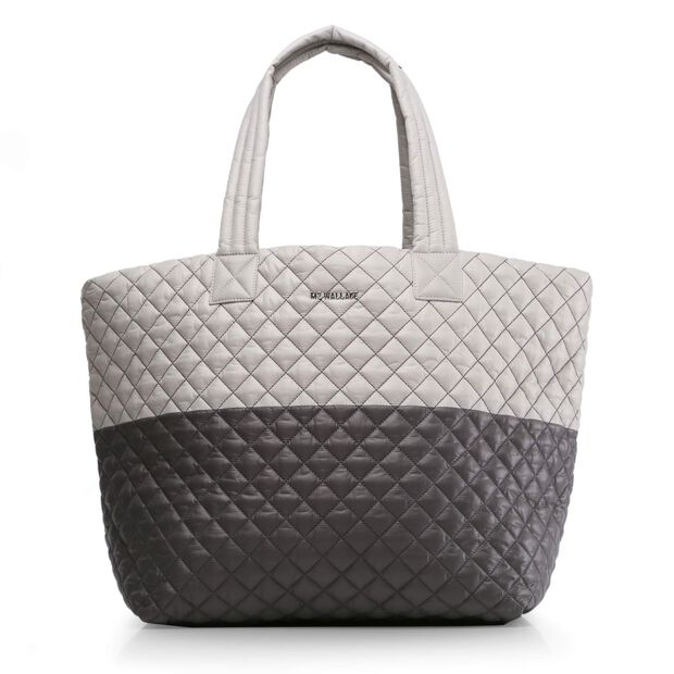 Large Metro Tote in color Paloma & Magnet