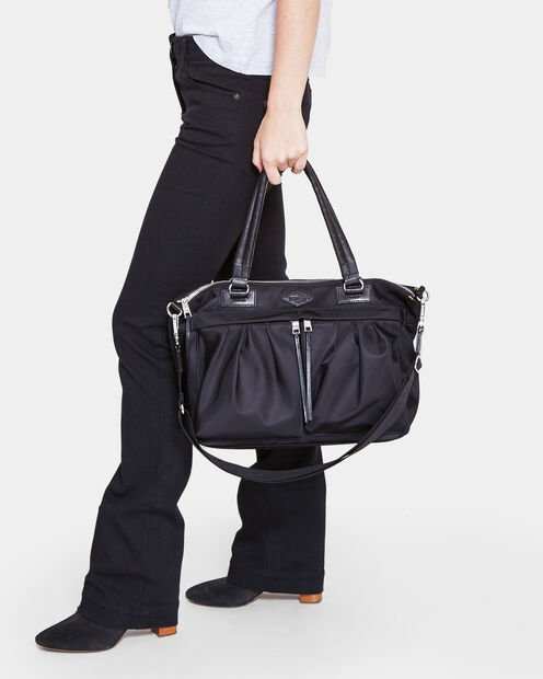 Jordan Satchel - Black Bedford Moto (4460067) in color Black