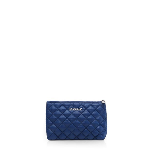 Savoy Flat Pouch in color Estate Blue