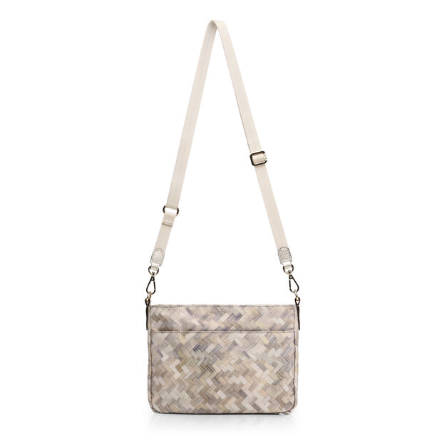 Basket Weave Bedford Abbey Crossbody (6031374) in color Basket Weave