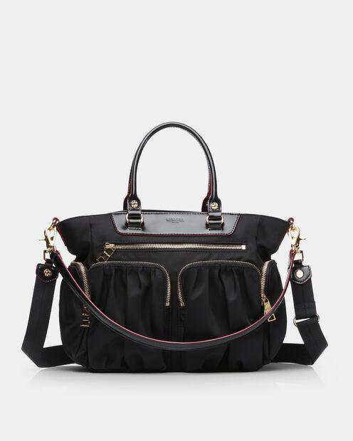 Small Abbey Tote in color Black