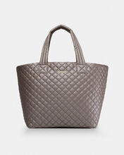 Sable Metallic Large Metro Tote