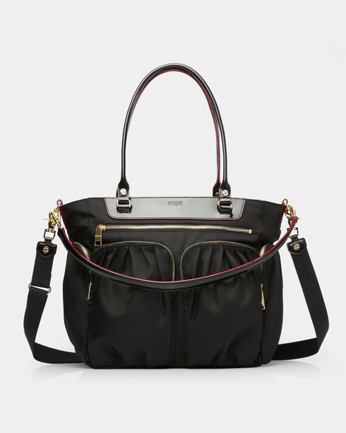 Abbey Tote in color Black