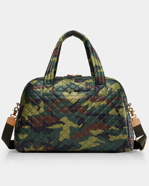 Camo Quilted Oxford Nylon Jim Bag 2660265