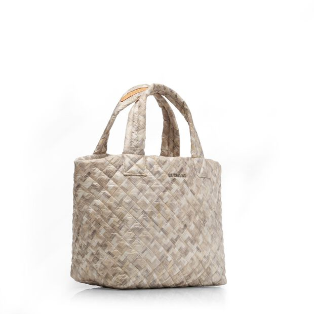Basket Weave Oxford Small Metro Tote (3701374) in color Basket Weave