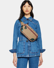 Ivy Logo Jacquard Tribeca Belt Bag