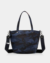 Dark Blue Camo Bedford Small Soho Tote (11121311)