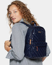 Dawn Lacquer Small Metro Backpack