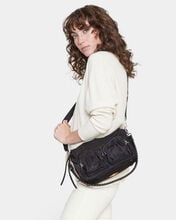 Black Thompson Crossbody