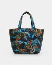Butterfly Print Medium Metro Tote