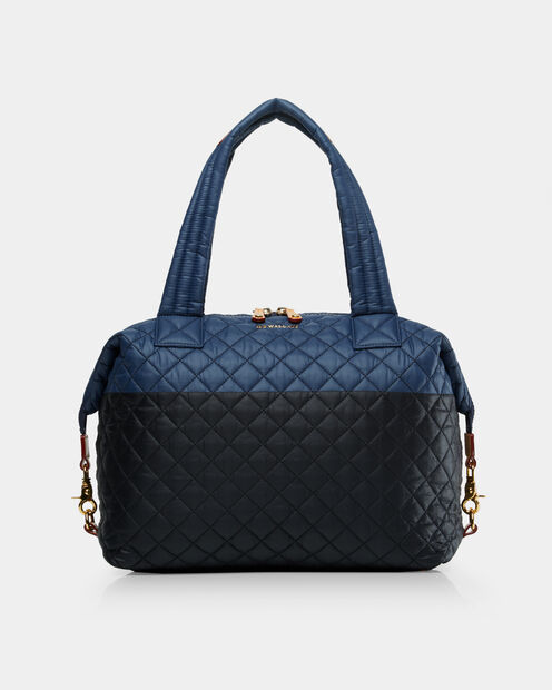 Large Sutton in color Black & Navy