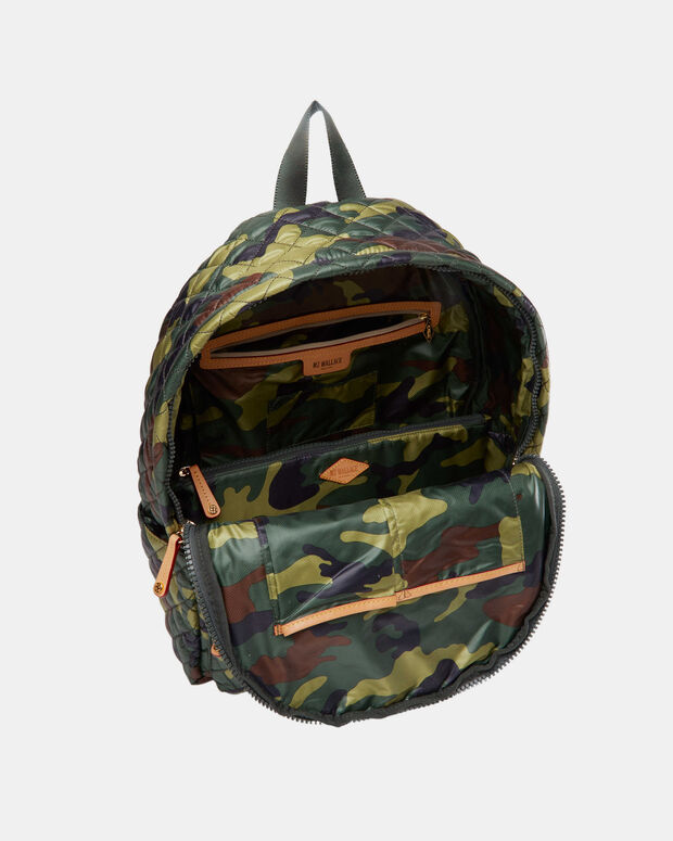 Medium Metro Backpack - Camo Quilted Oxford  (7660265)