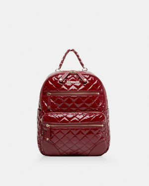 Cranberry Lacquer Small Crosby Backpack (11471510)