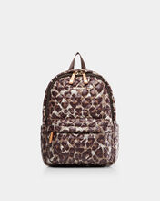 Leopard Print Small Metro Backpack