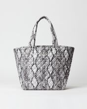 Grey Snake Medium Metro Tote