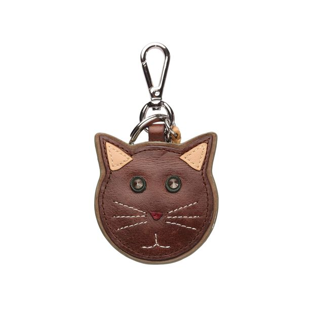 Leather Cat Charm (10161385) in color