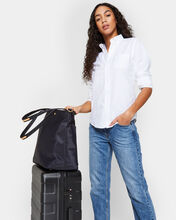 Dawn with Gold Hardware Soho Travel Tote