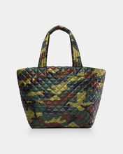 Green Camo Medium Metro Tote