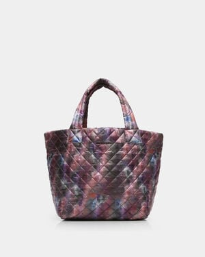 Pixel Print Oxford Small Metro Tote (3701312)