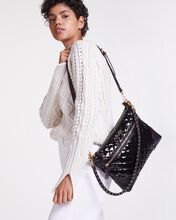 Black Lacquer Crosby Crossbody