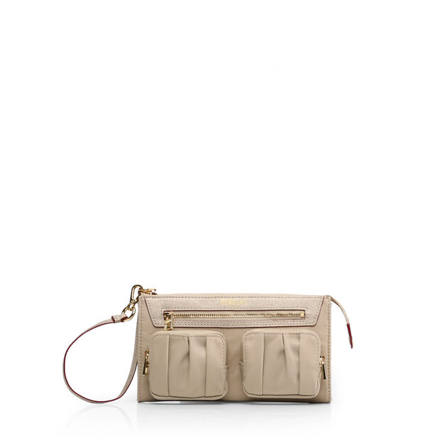 Abbey Wristlet in color Flax