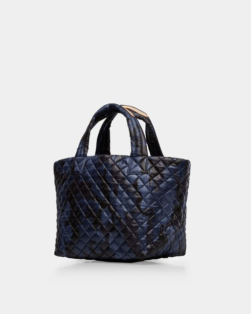 Small Metro Tote - Dark Blue Camo Oxford (3701311) in color Dark Blue Camo