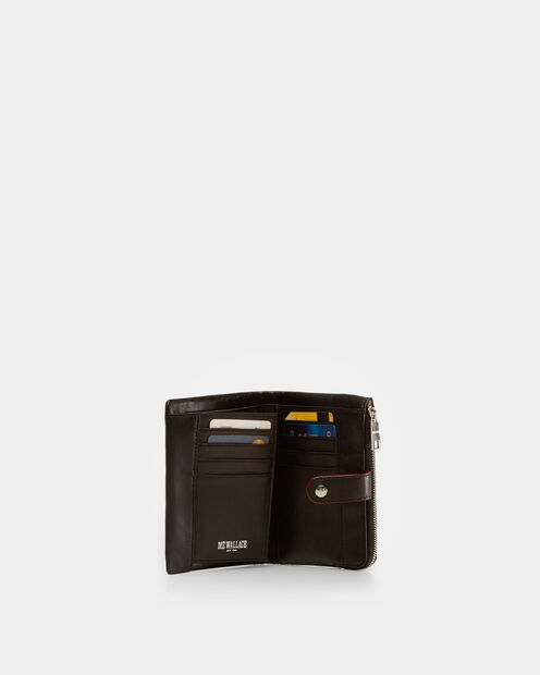 Black Moto Ingrid Wallet (2710067) in color Black Moto