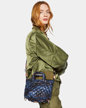 Image result for MZ Wallace Dark Blue Camo Small Soho Tote