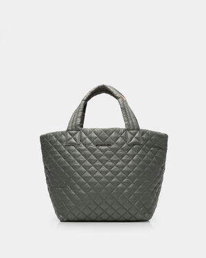 Small Metro Tote - Army Quilted Oxford (3701309)