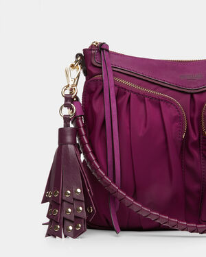 Elderberry Leather Myla Tassel (11621514)